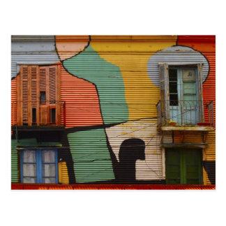 Cartão coloridos de Buenes Aires Argentina das