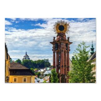 Cartão Coluna do praga, Banska Stiavnica, Slovakia