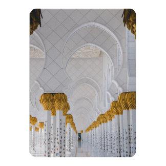 Cartão Colunas do Sheikh Zayed Grande Mesquita, Abu Dhabi