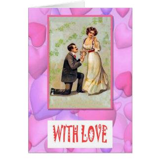 Cartão Com amor - proposta