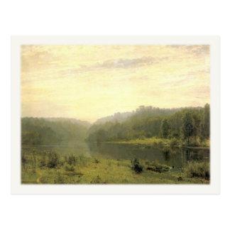 Cartão com cena de Forrest