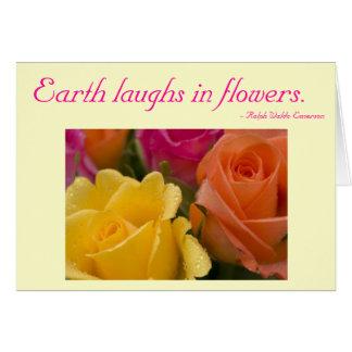 Cartão com citações - amarelo cor-de-rosa