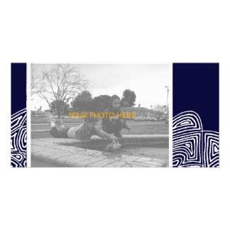 Cartão com fotos abstrato de Flury Cartão Com Foto