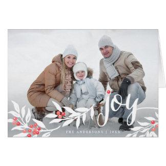 Cartão com fotos alegre do feriado das folhas da