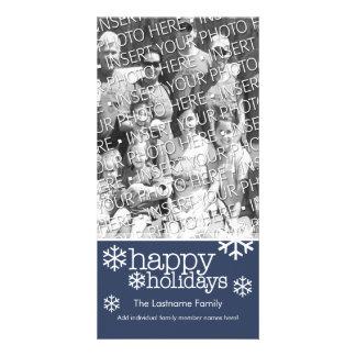Cartão com fotos: Boas festas com a 1 grande foto
