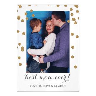 Cartão com fotos bonito do dia das mães dos