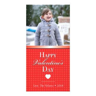 Cartão com fotos bonito do dia dos namorados