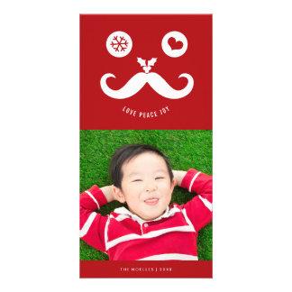 Cartão com fotos bonito do feriado do smiley face