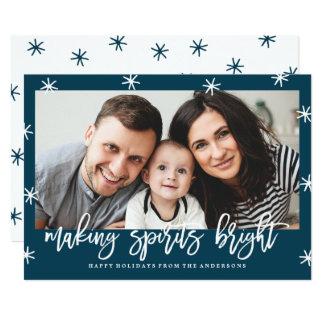 Cartão com fotos brilhante do feriado dos espírito