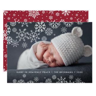 Cartão com fotos celestial do feriado da paz |