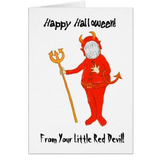 Cartão com fotos customizável do Dia das Bruxas