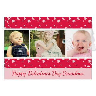 Cartão com fotos do dia dos namorados para a avó