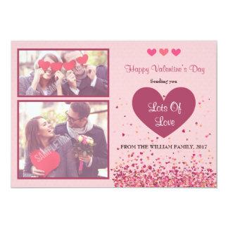 Cartão com fotos do feliz dia dos namorados
