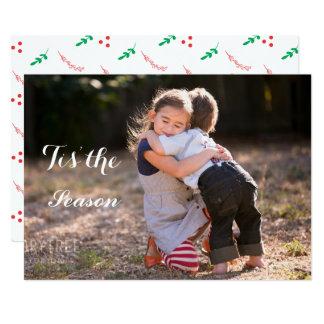 Cartão com fotos do feriado