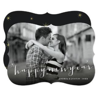 Cartão com fotos do feriado de Starburst do