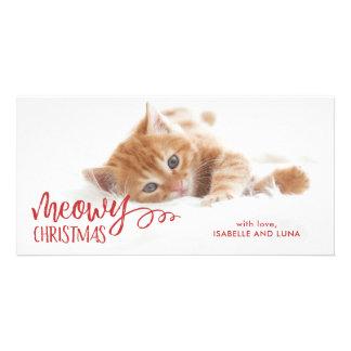 Cartão com fotos do feriado do animal de estimação