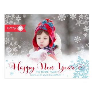 Cartão com fotos do feriado do cartão | do feliz