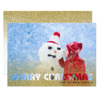 Cartão com fotos do feriado do Feliz Natal -