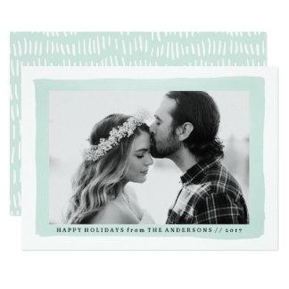 Cartão com fotos do feriado do respingo | da