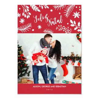 Cartão com fotos do feriado dos ramos do Feliz Convite 12.7 X 17.78cm