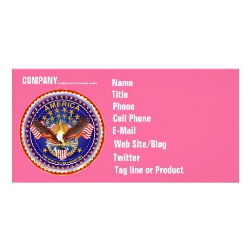 Cartão com fotos do negócio de SOA horizontal. Vej