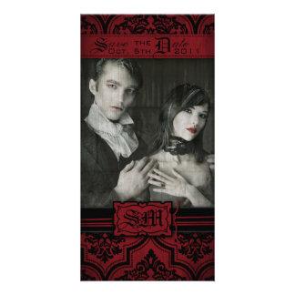 Cartão com fotos do SD da noiva do vampiro Cartão Com Foto