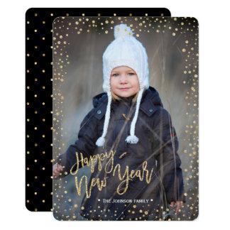 Cartão com fotos dos pontos | do brilho do ouro |