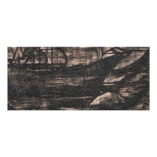 Cartão com fotos dos viagens de Paul 10.16 X 22.86cm Panfleto