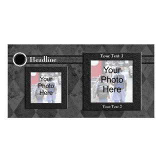 Cartão com fotos feito sob encomenda, casamento