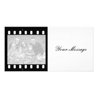 Cartão com fotos feito sob encomenda do quadro da cartão com foto