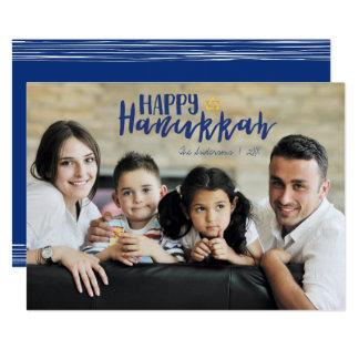 Cartão com fotos feliz do feriado da estrela de