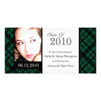Cartão com fotos Funky do anúncio da graduação da Cartão Com Foto