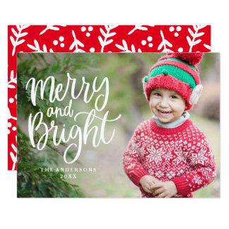 Cartão com fotos indicado por letras do feriado