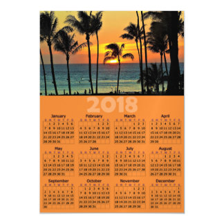 Cartão com fotos magnético do calendário da