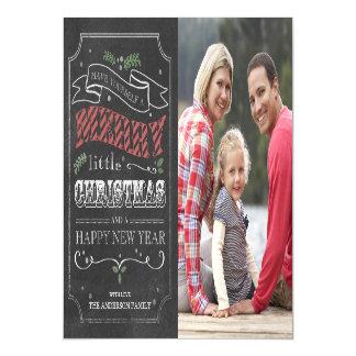 Cartão com fotos magnético do Feliz Natal do