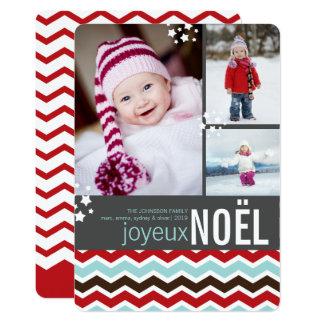 Cartão com fotos moderno do feriado da estrela de