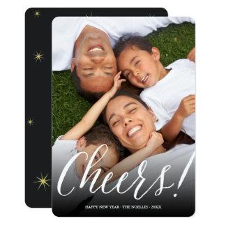 Cartão com fotos moderno do feriado do roteiro