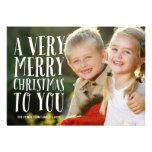Cartão com fotos muito alegre do feriado de | convites