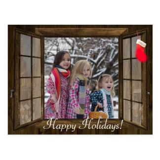 Cartão com fotos personalizado da família da