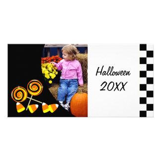 Cartão com fotos personalizado doces do Dia das