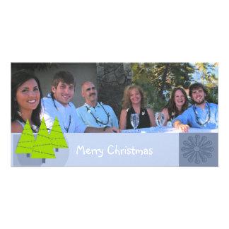Cartão com fotos retro da família das limeiras do  cartão com foto