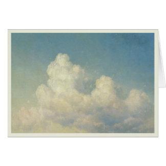 Cartão com Ivan K. Aivazovsky Pintura