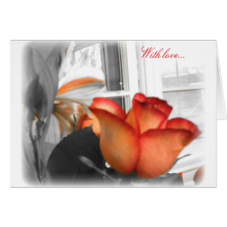 Cartão Com Love2 Notecard