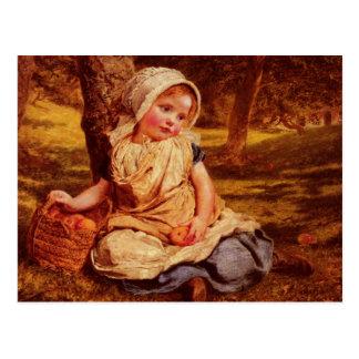 Cartão com pintura de Sophie Gengembre Anderson