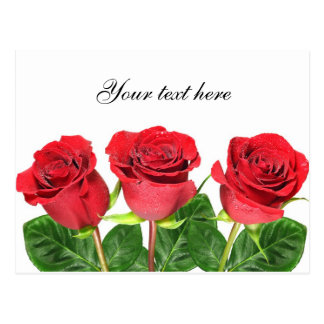 Cartão com rosas