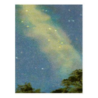 Cartão com Via Láctea