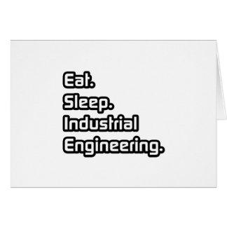 Cartão Coma. Sono. Engenharia industrial