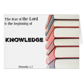 Cartão-Começo religioso da graduação do Cartão Comemorativo