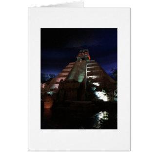 Cartão Comemorando um bocado da história mexicana
