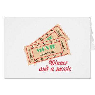 Cartão Comensal & filme